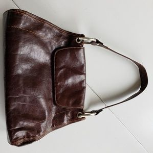 KENNETH COLE Brown Leather Purse